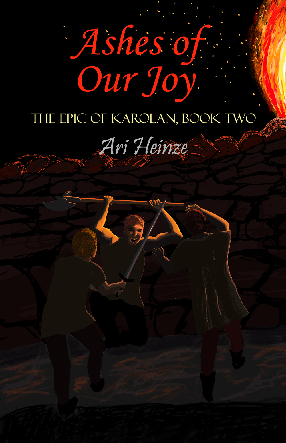 Front cover of Ashes of Our Joy