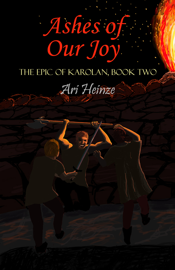 Cover image and link for Ashes of Our Joy