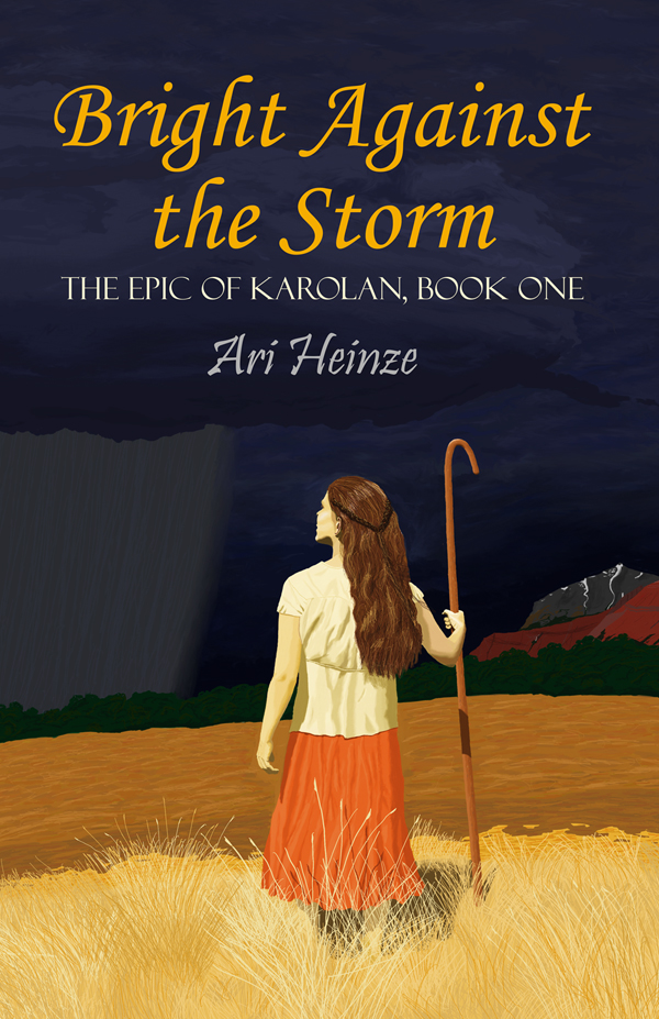 Cover image and link for Bright Against the Storm
