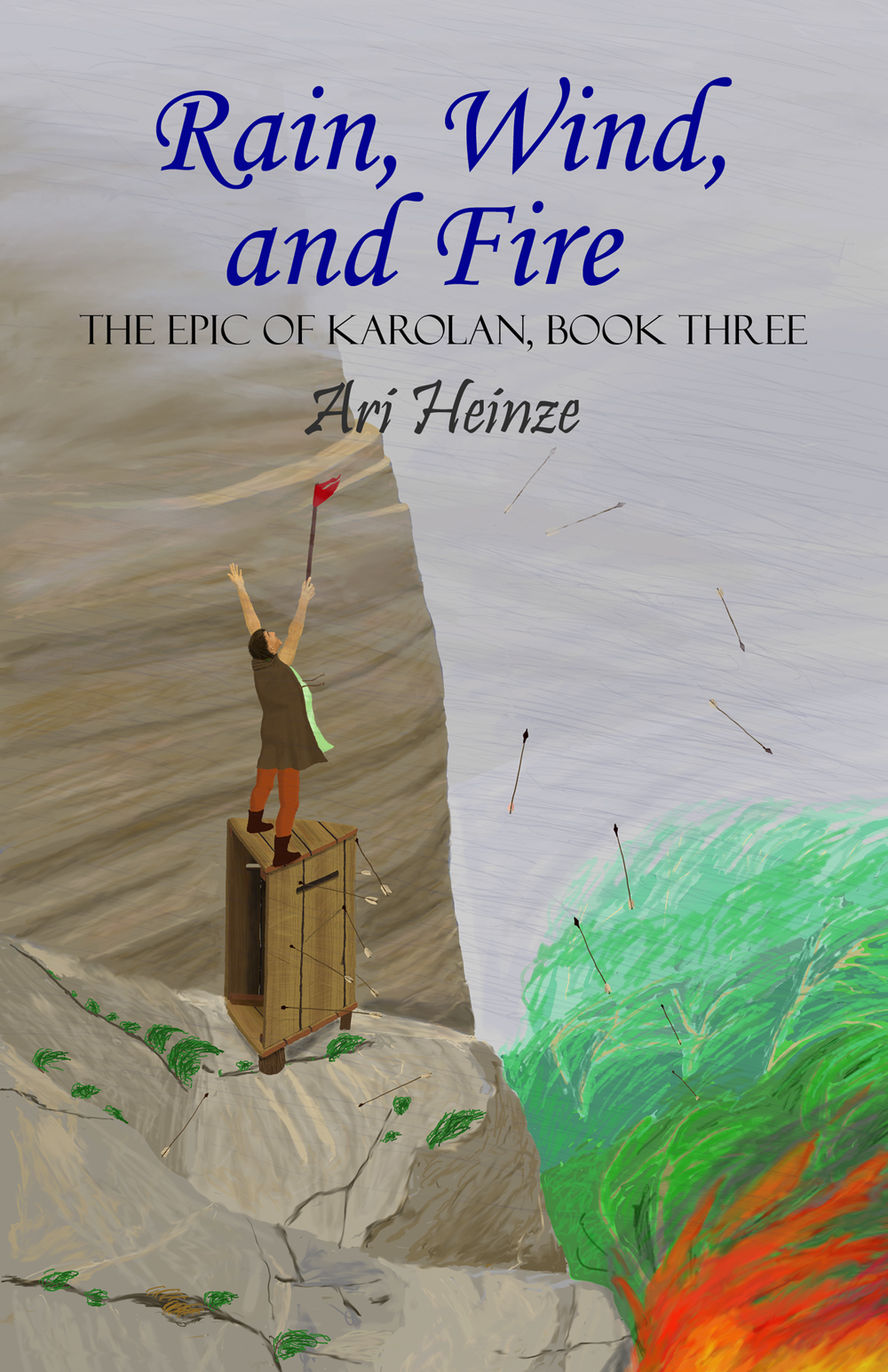 Front cover of Rain, Wind, and Fire